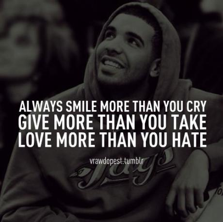 Drake Quotes About Life Traffic Club